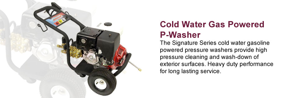 Cold Water Gas Powered P-Washer