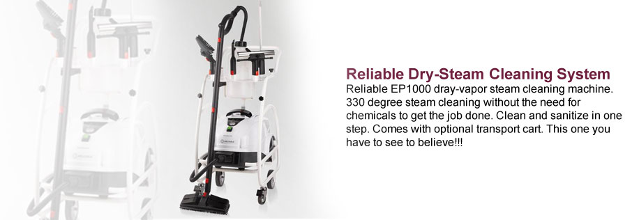Reliable Dry-Steam Cleaning System